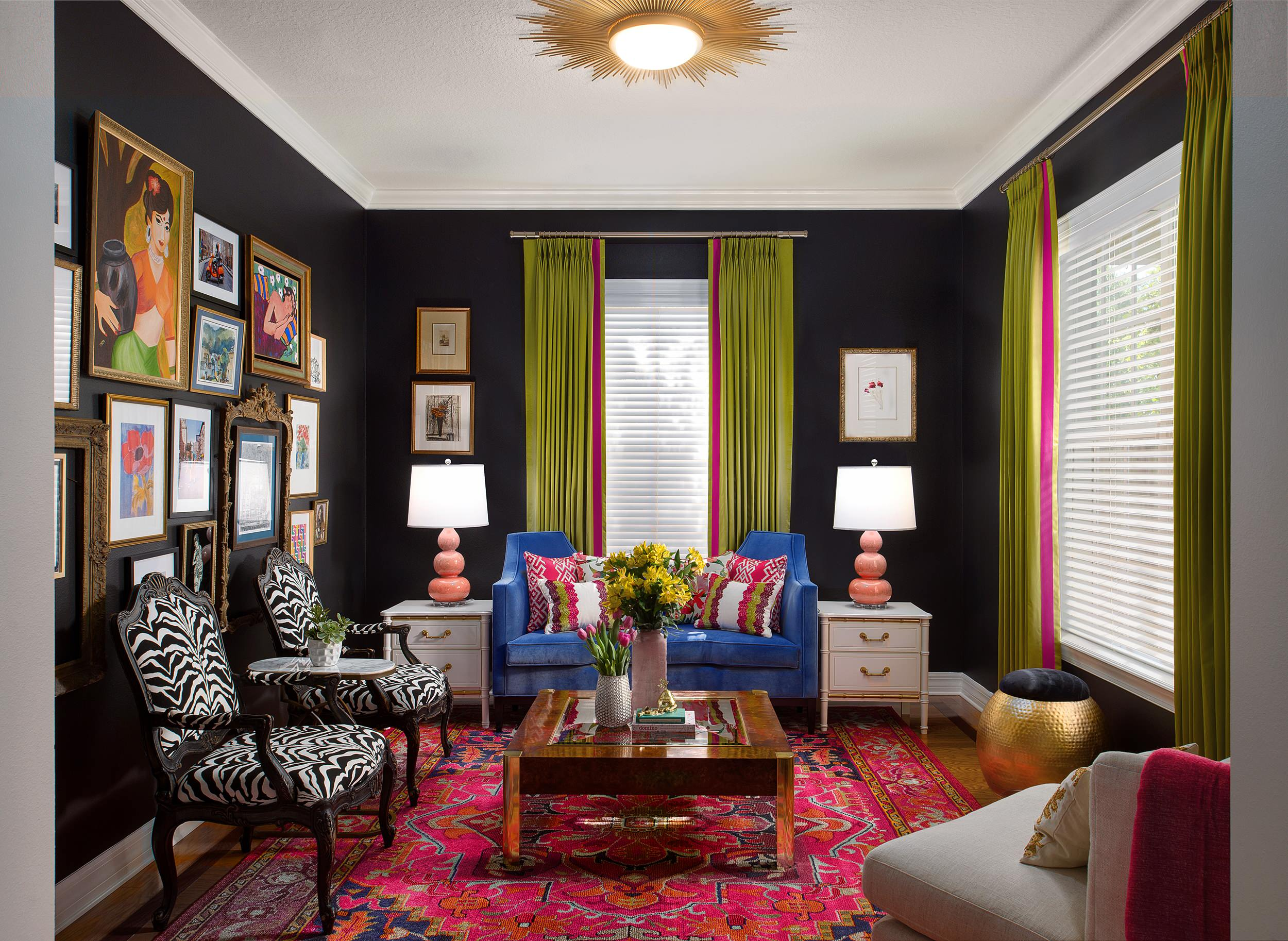 17 Comfy Eclectic Living Room Designs That Are All About The